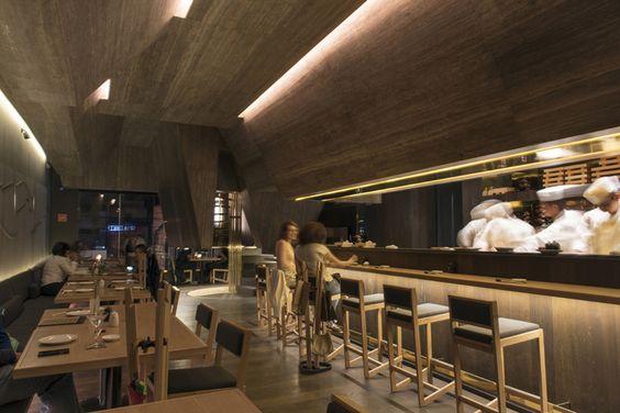 Tori Tori Altavista restaurant by ESRAWE Studio + Rojkind Arquitectos, Mexico…