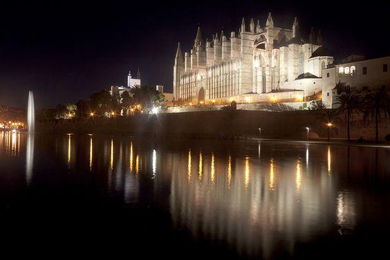 Lights From Palma De Mallorca Cathedral by Nicolas Gailland, via Flickr