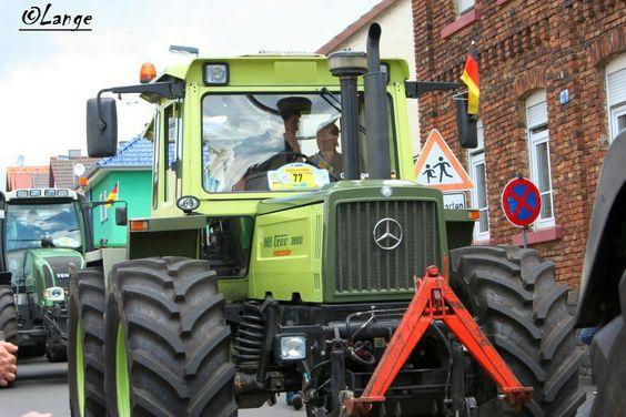 Mb Trac 1800 Traktor Traktoren Schlepper