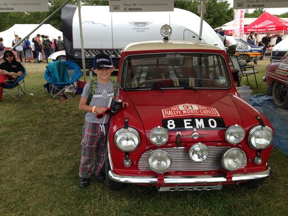 Monte Carlo mini and Jimmy. Festival of speed 2014.