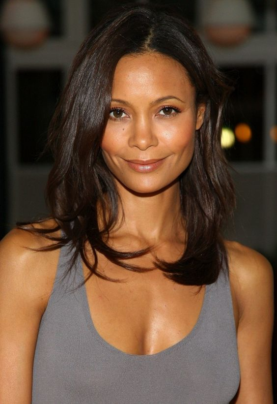 Thandie Newton, daughter of a Zimbabwean mother and a British father, is sexy in The Chronicles of Riddick and Mission: Impossible II.