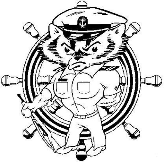 Bucky Badger Coloring Pages