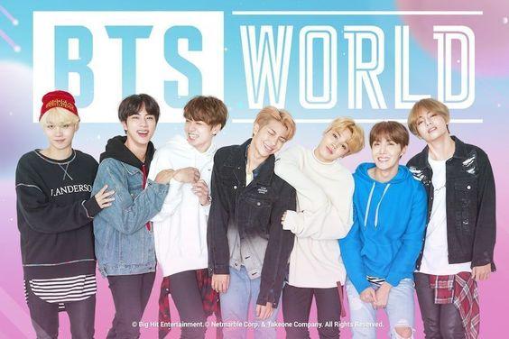 BTS's New Game BTS WORLD Tops App Store Charts Around The World