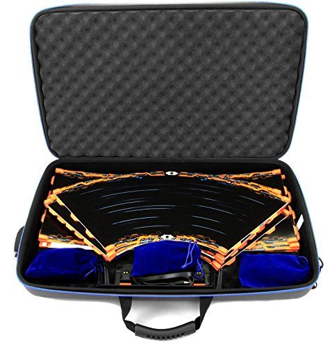 Casematix Garage Box Case Compatible With Anki Overdrive Starter Kit Tracks Or Fast And Furious Edition And Expansion Tracks Supercars Charging System And M Cloth Bags Super Cars Starter Kit