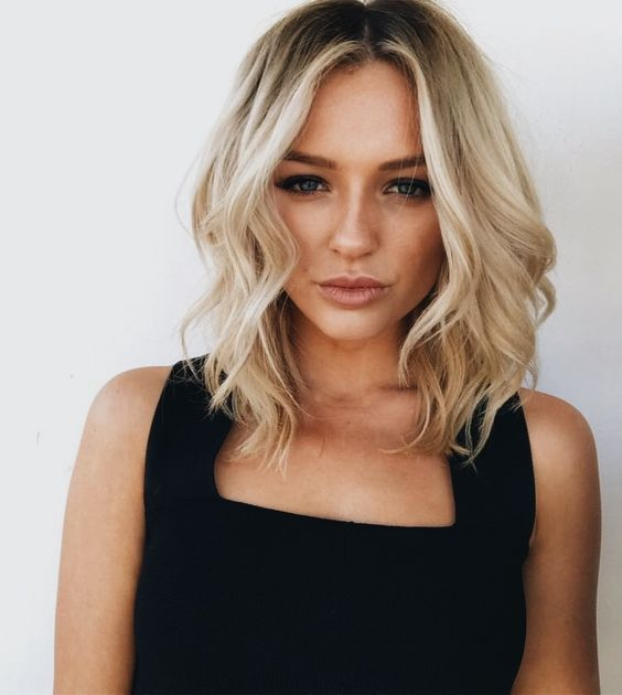 21+ Cute Shoulder Length Layered Haircuts for 2018 – 2019 | Medium ...