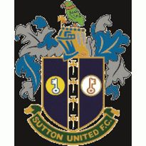 Sutton United FC Logo. Get this logo in Vector format from https://logovectors.net/sutton-united-fc/