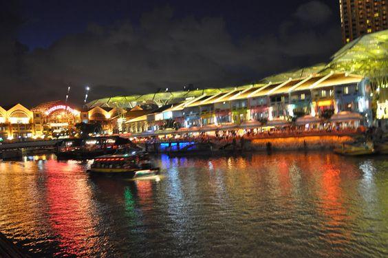 Robertson Quay đến cầu Tan Kim Seng