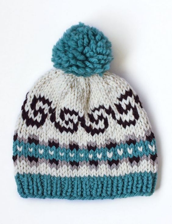 Fair isles, Hats and Knits on Pinterest