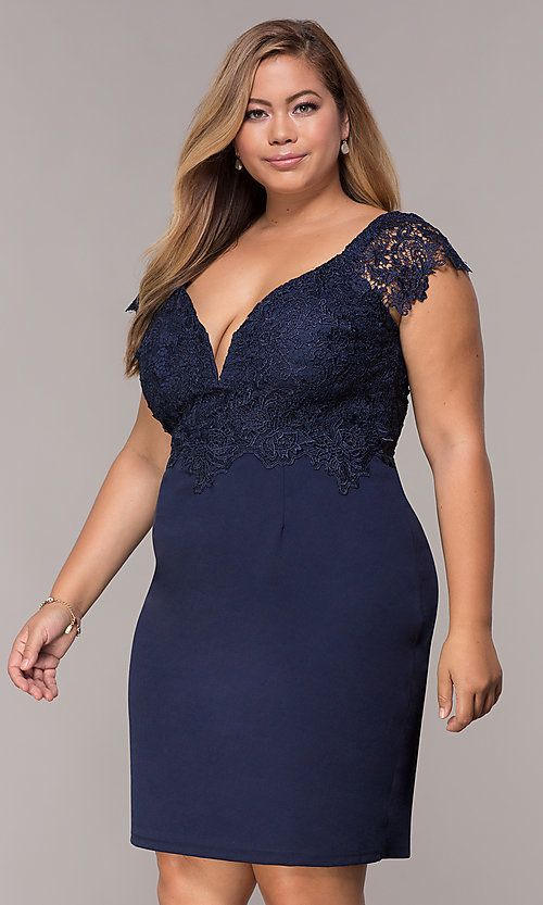 Plus Size Navy Cocktail Party Dress With Lace Navy Cocktail Dress Cocktail Bridesmaid Dresses Plus Size Wedding Guest Dresses,Dressing Table Design For Wedding