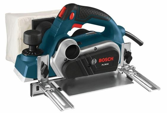New Bosch 6.5 Amp 3-1/4 In. Corded Wood Planer Power Tool Kit With Carrying Case #Bosch
