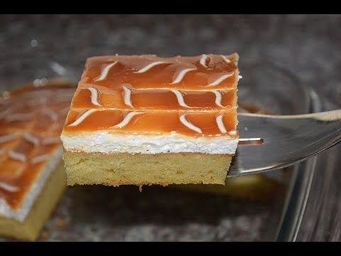 كيكة الست ملاعق بذوق الكراميل ب2 بيضات فقط و3 طبقات تستحق التجربة Youtube Middle Eastern Desserts Desserts Food