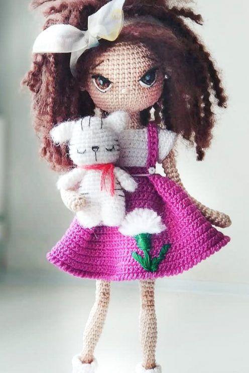 Amazing Beauty Amigurumi Doll and Animal Pattern Ideas | Patron ... | 744x496