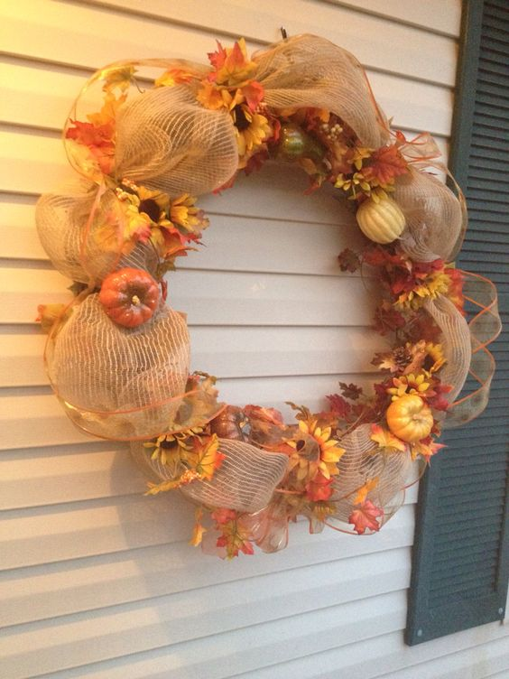 Outdoors Fall decoration