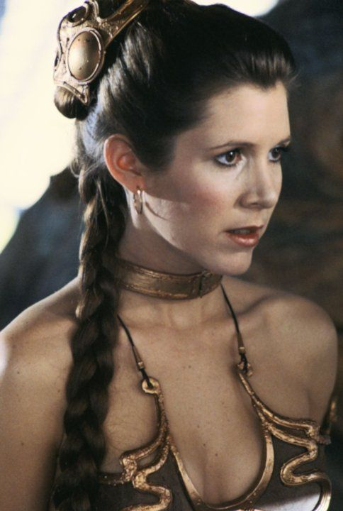 *PRINCESS LIEA ORGANA (Carrie Fisher) ~ Star Wars: Episode VI - Return of the Jedi (1983)