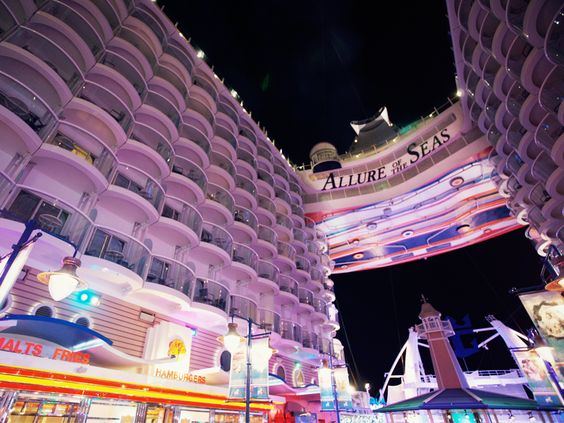Best part of Allure of the Seas? Everything. #caribbean #cruise:
