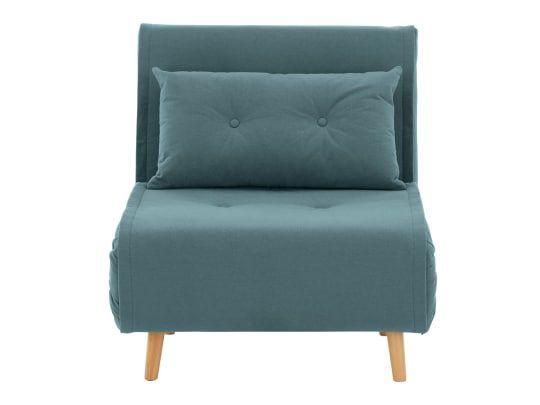Made Schlafsofa Blaugrun Single Couch Schlafsessel Und Bettsofa