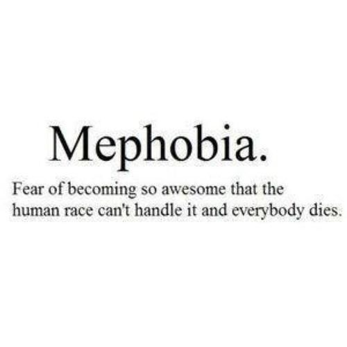 i've officially diagnosed myeslf with this.