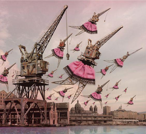 http://www.forgotten-hopes.com/wp-content/uploads/2010/07/stephan_muntaner-1.jpg: Ballet Girls, Design Photo, Dancer Mechanical Ballet, Cool Art, Art Graphics, Stephan Muntaner 1 Jpg 620, Artsy Farsty