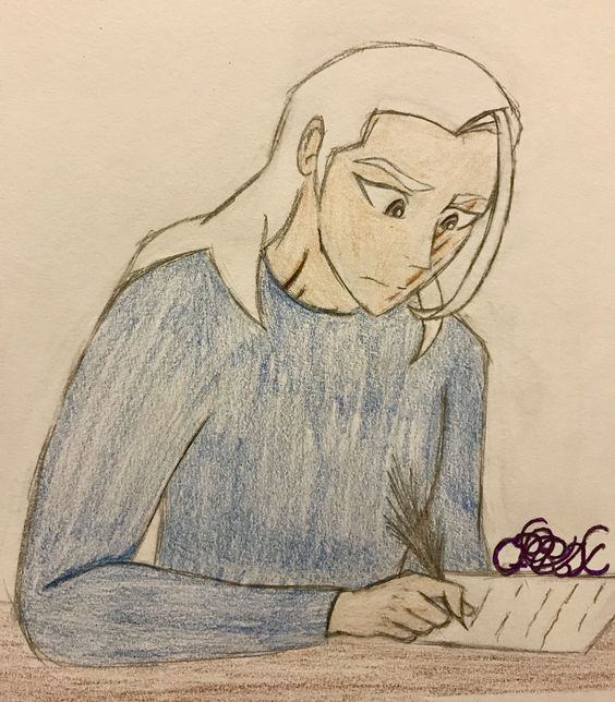 lotor writing letter