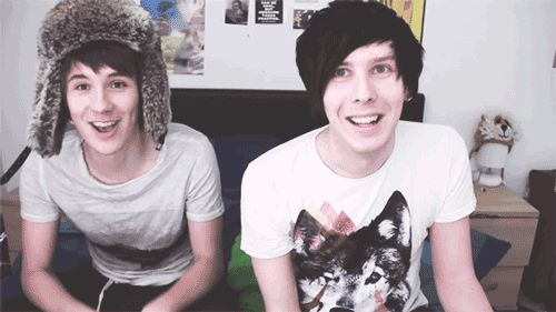 """I got: """"CONGRATULATIONS! You're definitely a part of the Phandom """" (7 out of 7! ) - How Well Do You Know Dan And Phil?"""