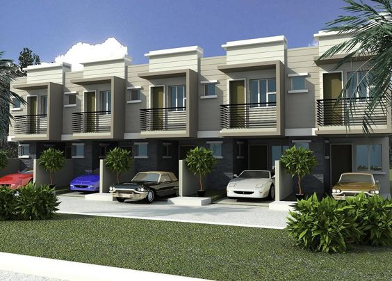 Philippines townhouse design google search townhouses for Contemporary townhouse plans