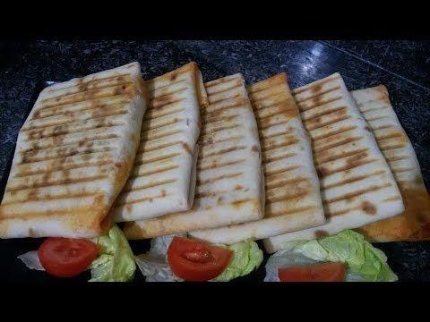 طاكوس منزلي عملاق بمذاق روعة Youtube Food Breakfast Waffles