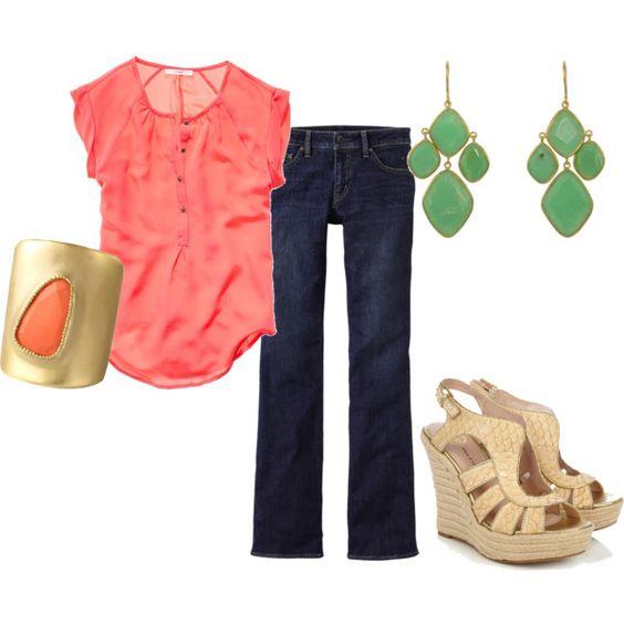 love this peach color