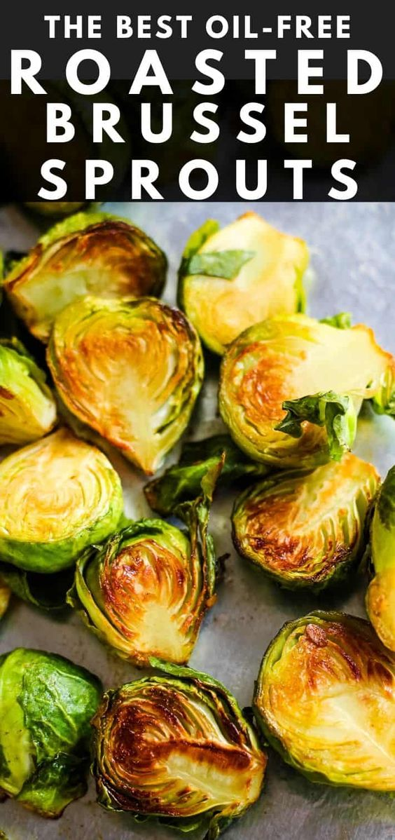 Healthy Roasted Brussel Sprouts
