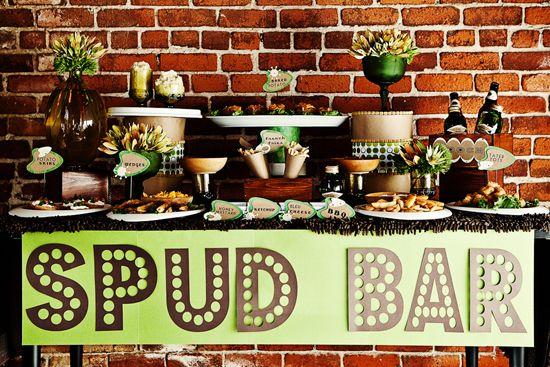 Spud Bar - how fun!