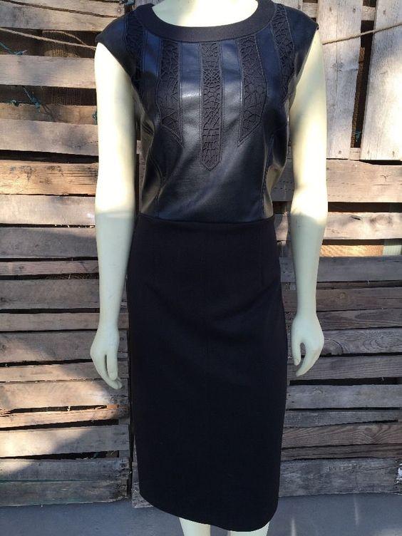 Andrew Marc NY Black Sexy Cocktail Dress 12 | eBay