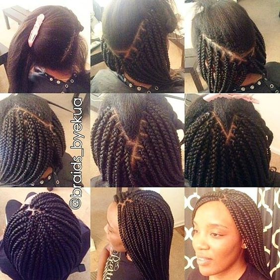 Crochet Box Braids Instagram : braids fall braids ideaaas and more box braids braids instagram boxes ...