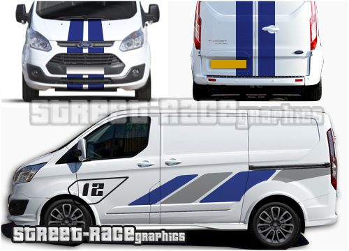 Transit Sport Race Van Graphics With Images Transit Custom