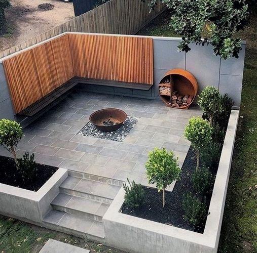 50 Awesome Modern Garden Architecture Design Ideas Courtyard Gardens Design Small Courtyard Gardens Outdoor Patio Designs