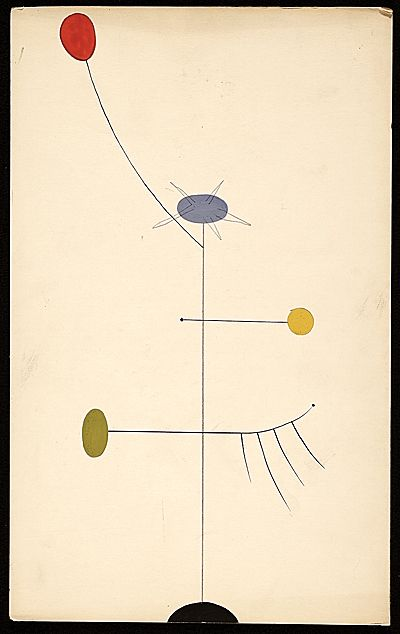 Citation: Abstract sketch, ca. 1940 . Charles Green Shaw papers, Archives of American Art, Smithsonian Institution.