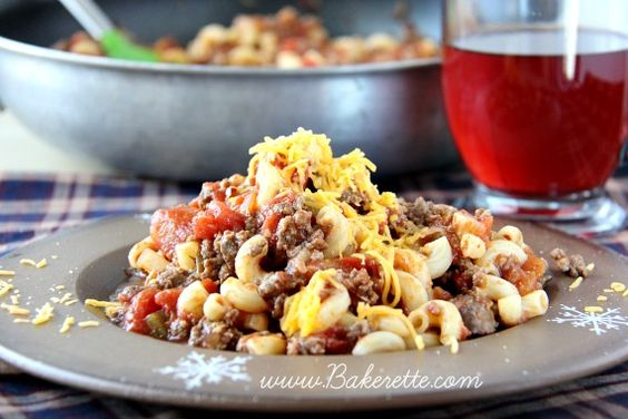 This classic American goulash recipe is a hearty meal that will warm ...