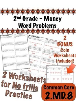 2nd grade money word problems common core 2 md 8 word problems 2nd grades and common cores. Black Bedroom Furniture Sets. Home Design Ideas