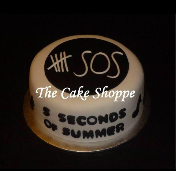 5 Seconds Of Summer Cake My Birthday Party Pinterest Birthdays