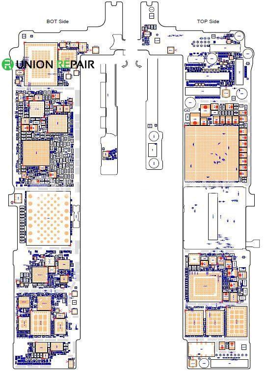 Schematic Diagram (searchable PDF) for iPhone 6S /6S Plus | Smartphone  repair, Apple iphone repair, Iphone screen repairPinterest