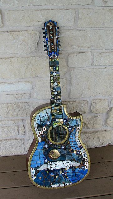 Mexican blues guitar WIP by Silvahayes, via Flickr