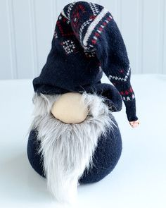 Norwegian Nisse Christmas Gnome Doll - http://www.sweetpaulmag.com/crafts/norwegian-nisse-christmas-gnome-doll #sweetpaul: