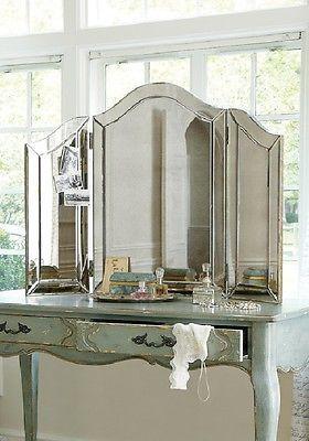NEW Large Venetian Style TriFold Vanity Table Top Makeup Mirror S1 | For  Tay | Pinterest | Vanity Tables, Venetian And Vanities