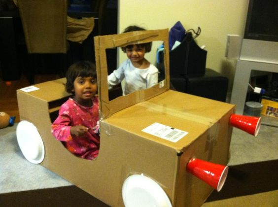 10 Ideas About Cardboard Box Cars On Pinterest: Cars, Cardboard Boxes And Jeeps On Pinterest