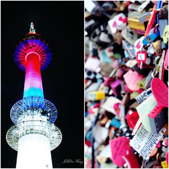 Namsan Seoul Tower Spot Wisata Paling Ikonik Di Korea Selatan Cr Dreamersradio Pic