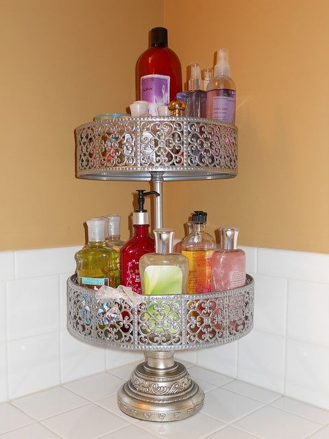 Two Tiered Bathroom OrganizerOrganization ideasPinterest. Bathroom counter organizer