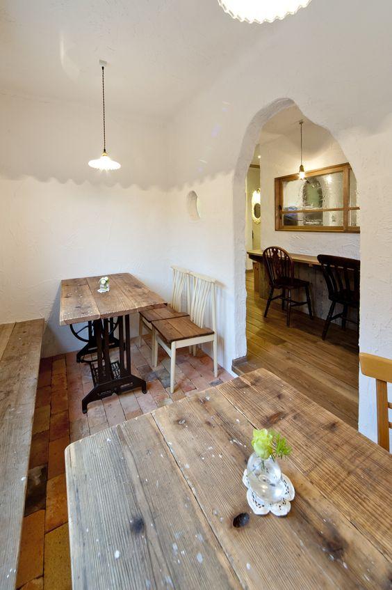 洞穴カフェスペース  パパママハウス 施工実例