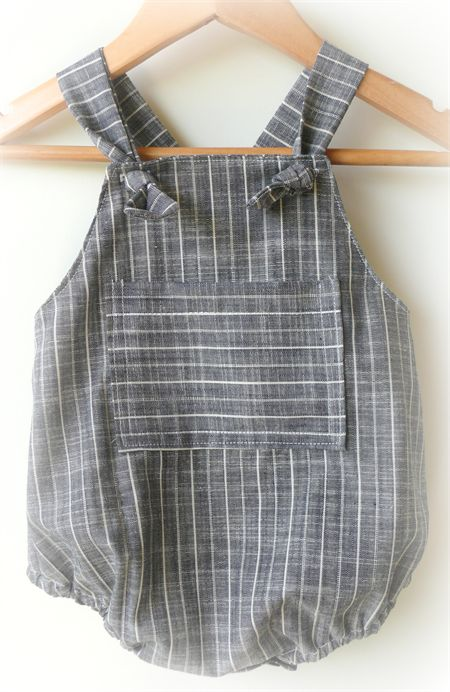 Baby Boy Chambray Romper: Baby Boys Rompers, Baby Boy Clothes Summer, Baby Boy Rompers, Baby Rompers Boy, Baby Girl, Baby Boy Style Summer, Baby Boy Romper Diy, Baby Boy Clothes Diy