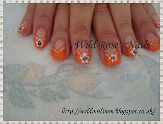 Wild Rose's Nails: Step By Step