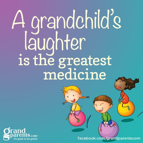 I truly do love it when my Grandsons are happy and laughing.