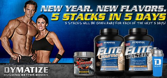 """Dymatize """"New Year. New Flavors."""" Giveaway."""