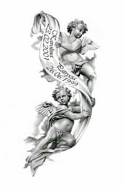 Engel tattoos vorlagen